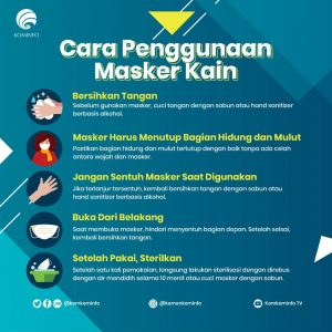 Cara Memakai Masker untuk Mencegah Penularan Penyakit