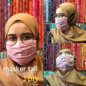 TERLARIS! Masker Kain Hijab Harga Murah Berkualitas