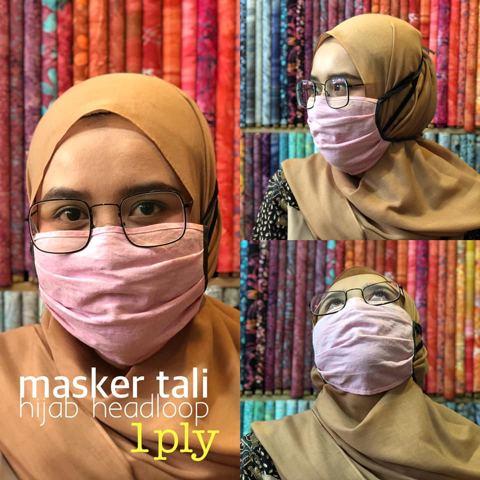 TERLARIS! Produsen Masker Kain Hijab Jakarta Harga Murah Mulai Rp1.800/pcs