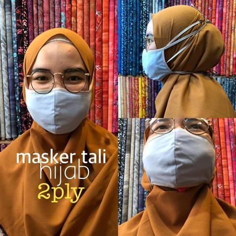 Konveksi masker kain hijab Jogja