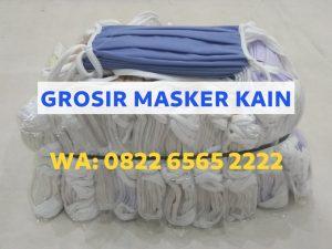 PROMO! Masker Kain Tali Harga Grosir Termurah Mulai Rp1.800/pcs WA: 0822-6565-2222