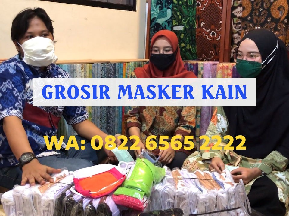 Grosir Masker Kain Kota Tangerang Murah Terlengkap