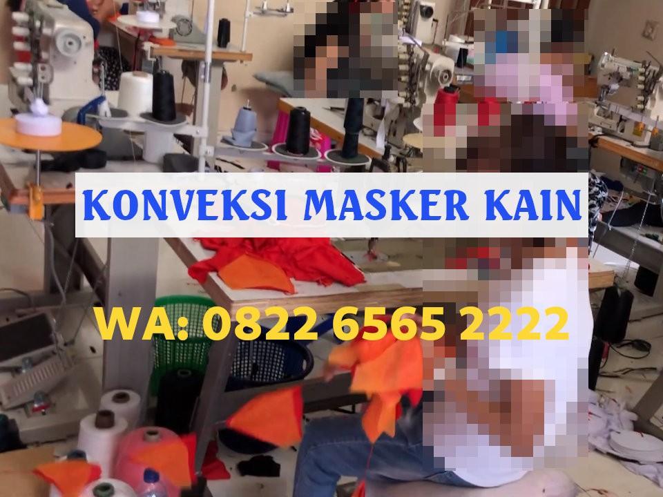 Konveksi Masker Kain Hijab Bandung dengan Model Lengkap Sesuai Pesanan