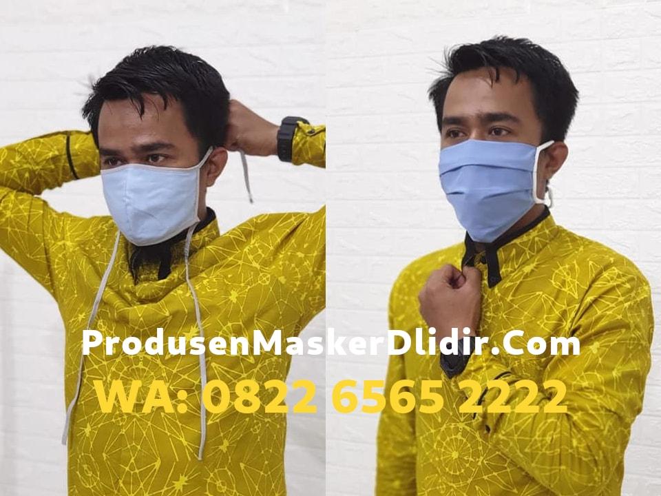 Harga Grosir Masker Kain di Bogor Mulai Rp1.800 per pcs