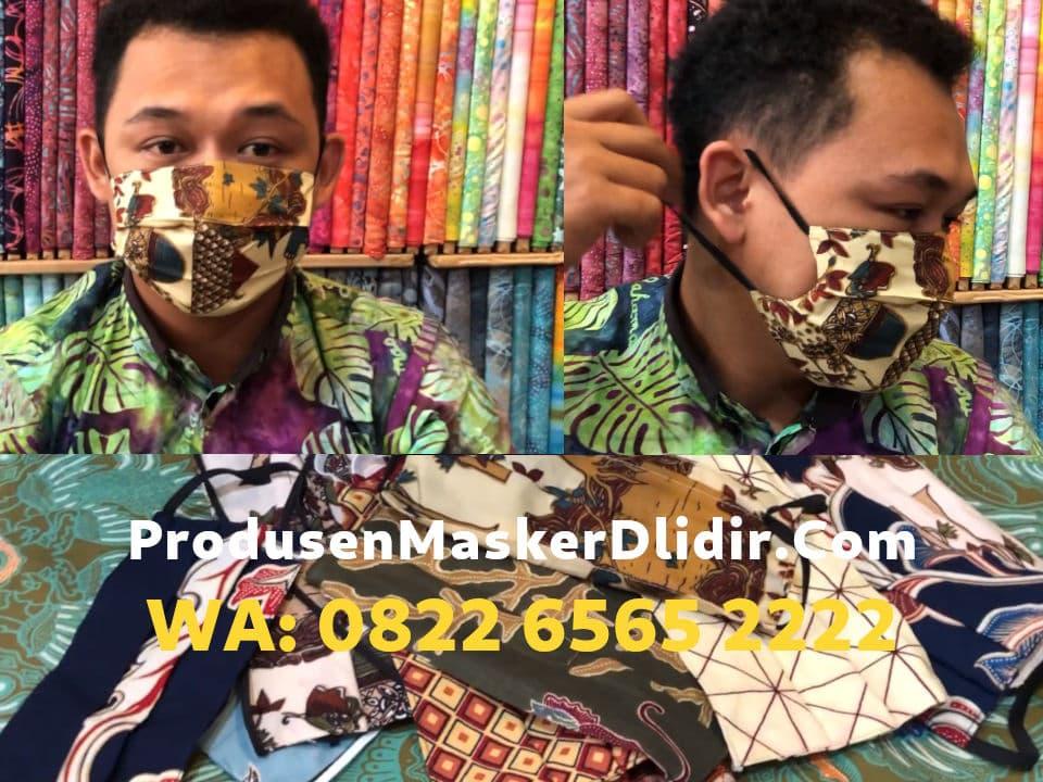 Grosir Masker Kain Tali Motif Batik Kota Tangerang Nuansa Etnik