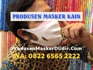 Harga Masker Kain Mulai Rp1.800 per pcs