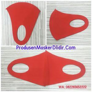 Pabrik Makloon Masker Scuba Polos dan Warna