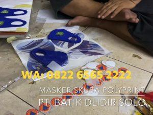 Jasa Sablon Masker Custom Design Cetak Logo WA 082265652222