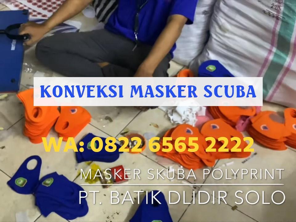 Konveksi Masker Scuba Jogja Terbaik Harga Grosir WA: 0822-6565-2222