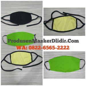 Masker kain polos berkualitas terpercaya - wa 082265652222