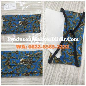 Masker kain batik dlidir - wa 082265652222
