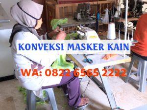Konveksi Masker Kain Medan Harga Pabrik Termurah Rp1.920/pcs