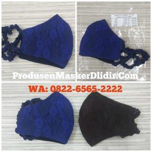 Produsen Masker Kain Brokat di Surabaya