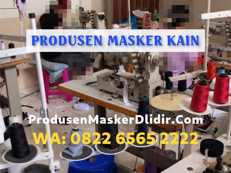 Produsen Masker Kain Surabaya Harga Pabrik Termurah Rp1.920/pcs
