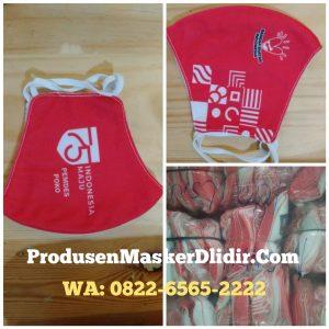 Masker Kain Custom Logo Full Print Murah