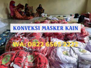 Konveksi Masker Kain Jakarta Timur Terpercaya WA: 082265652222