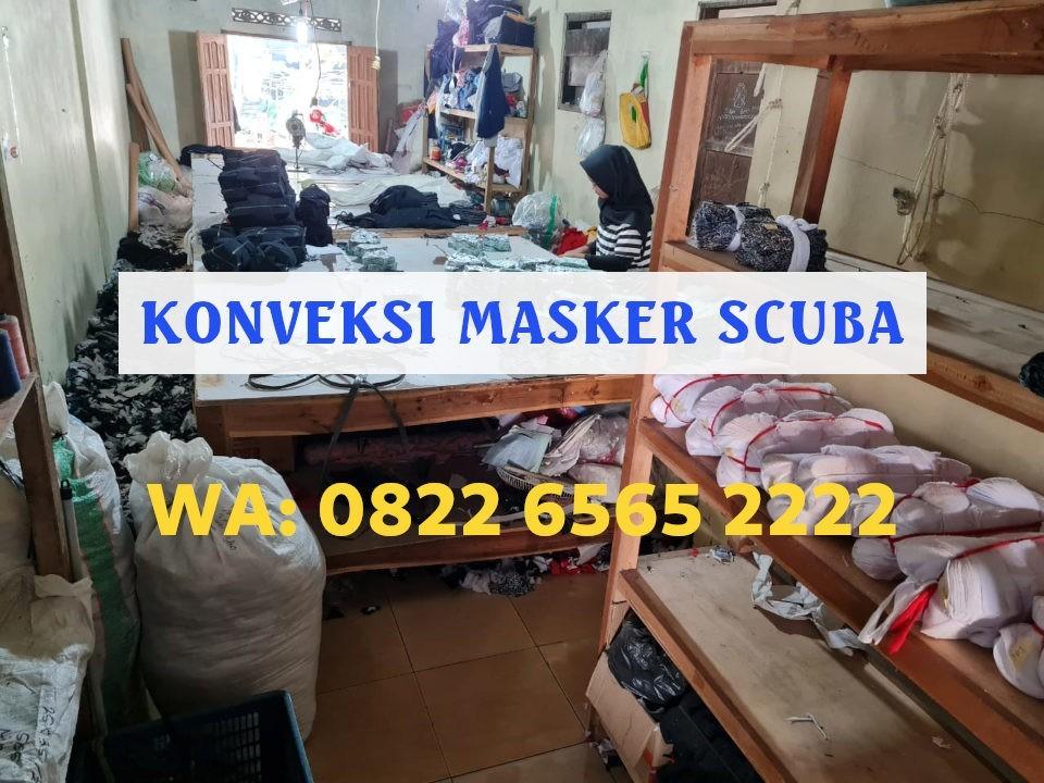 Konveksi Masker Scuba Kota Depok Terbaik Harga Grosir WA: 0822-6565-2222