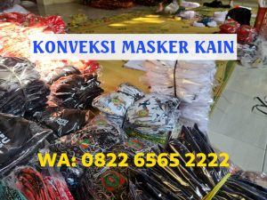 Konveksi Masker Kain Semarang Jasa Makloon Masker Terbaik, WA 082265652222