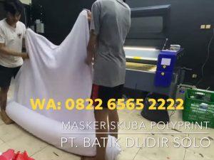 Jasa Sablon Masker Custom Print Logo Harga Termurah WA: 0822-6565-2222