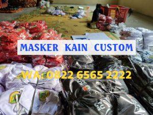 Masker Kain Custom Tangerang Banten Berkualitas Harga Murah
