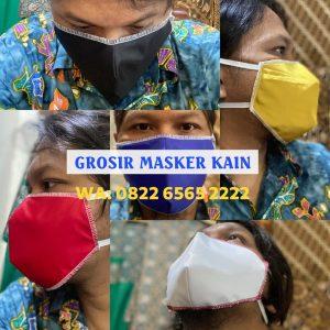 Grosir Masker Kain Murah Harga Pabrik Mulai Rp2.000/pcs WA 0822-6565-2222