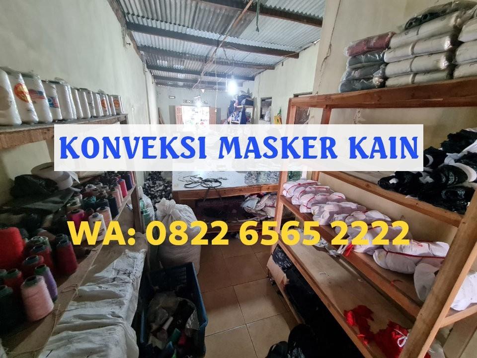 Konveksi Masker Kain Jakarta Dlidir Terpercaya WA 0822-6565-2222